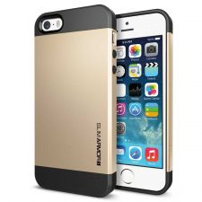 Buy iPhone 5 Case, iPhone 5S Case, SGP Slim Thin Gold Hard Case, iPhone Cover