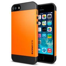 Buy iPhone 5 Case, iPhone 5S Case, SGP Slim Thin Orange Hard Case, iPhone Cover