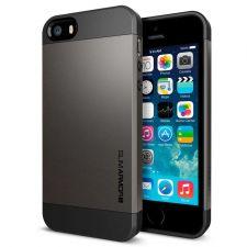 Buy iPhone 5 Case, iPhone 5S Case, SGP Slim Thin Dark Brown Hard Case, iPhone Cover