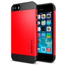 Buy iPhone 5 Case, iPhone 5S Case, SGP Slim Thin Lemon Red Hard Case