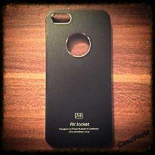 Buy iPhone 5 Case, iPhone 5S Case, Slim Thin Hard Case Air Jacket Black