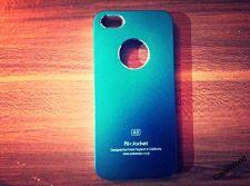 Buy iPhone 5 Case, iPhone 5S Case, Slim Thin Hard Case Air Jacket Sky Blue