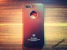Buy iPhone 5 Case, iPhone 5S Case, Slim Thin Hard Case Air Jacket Dark Brown