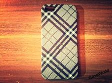 Buy iPhone 5 Case, iPhone 5S Case, Slim Thin Hard Case Check Design SS-001