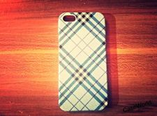 Buy iPhone 5 Case, iPhone 5S Case, Slim Thin Hard Case Check Design SS-002
