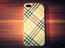 Buy iPhone 5 Case, iPhone 5S Case, Slim Thin Hard Case Check Design SS-003