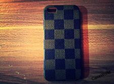 Buy iPhone 5 Case, iPhone 5S Case, Slim Thin Hard Case Check Design SS-004
