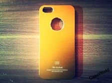 Buy iPhone 5 Case, iPhone 5S Case, Slim Thin Hard Case Air Jacket Gold