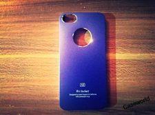Buy iPhone 5 Case, iPhone 5S Case, Slim Thin Hard Case Air Jacket Blue