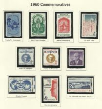 Buy 1960 Commemorative Mint Stamps! 50yrs old Features Mexian Indep, BoysClub & More