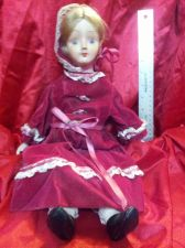 Buy Large Porcelein Doll 17.5 IN - Beautiful!Large Porcelein Doll 17.5 IN - Beautifu