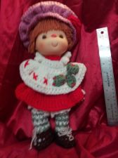 Buy Large Knitted Doll 12.5 IN