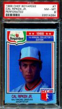 Buy 1988 88 CHEF BOYARDEE CAL RIPKEN JR. ORIOLES PSA 8 NM-MINT PERFORATED #7 HOF