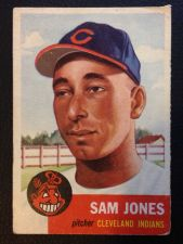 Buy 1953 Topps #6 Sam Jones VG