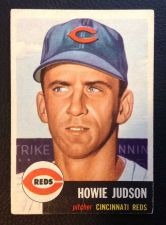 Buy 1953 Topps #12 Howie Judson VGEX+