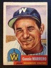 Buy 1953 Topps #13 Connie Marrero EX