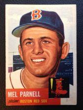 Buy 1953 Topps #19 Mel Parnell EXMT