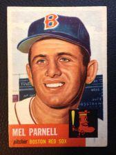 Buy 1953 Topps #19 Mel Parnell EX+