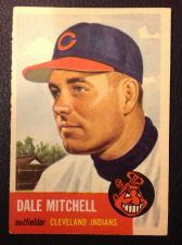 Buy 1953 Topps #26 Dale Mitchell VGEX+