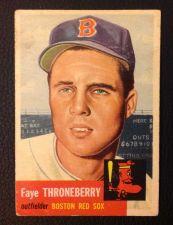 Buy 1953 Topps #49 Faye Thorneberry GOOD