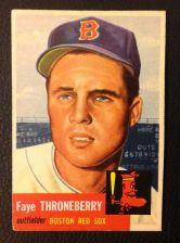 Buy 1953 Topps #49 Faye Thorneberry EX