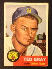 Buy 1953 Topps #52 Ted Gray VG+