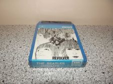 Buy Beatles Revolver NEW SEALED stereo 8 tape Italy NOT VINYL LP