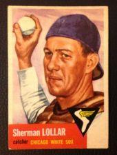 Buy 1953 Topps #53 Sherman Lollar EX+