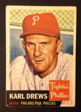 Buy 1953 Topps #59 Karl Drews VG