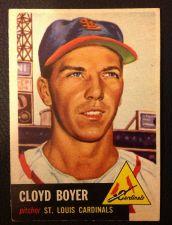 Buy 1953 Topps #60 Cloyd Boyer EXMT