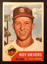 Buy 1953 Topps #67 Roy Sievers VG+