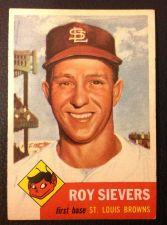 Buy 1953 Topps #67 Roy Sievers EXMT+