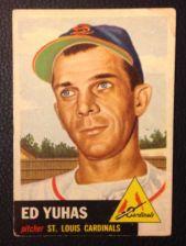 Buy 1953 Topps #70 Ed Yuhas VGEX
