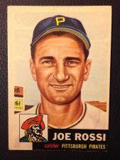 Buy 1953 Topps #74 Joe Rossi EXMT