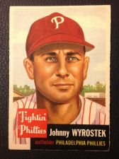 Buy 1953 Topps #79 Johnny Wyrostek VGEX
