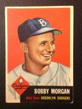 Buy 1953 Topps #84 Bobby Morgan EX