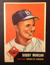 Buy 1953 Topps #84 Bobby Morgan EXMT