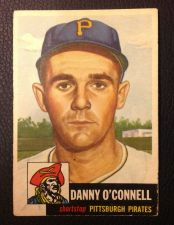 Buy 1953 Topps #107 Danny O'Connell VG+
