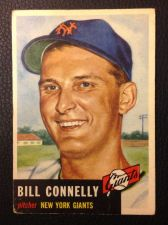 Buy 1953 Topps #126 Bill Connelly VG+