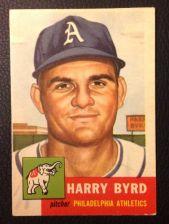 Buy 1953 Topps #131 Harry Byrd VG+