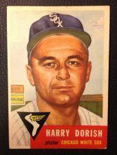 Buy 1953 Topps #145 Harry Dorish VGEX
