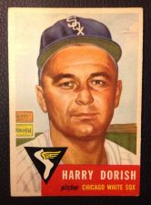 Buy 1953 Topps #145 Harry Dorish EX