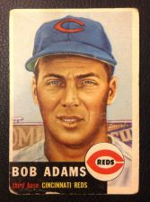 Buy 1953 Topps 152 Bob Adams GOOD