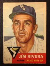 Buy 1953 Topps 156 Jim Rivera F/P