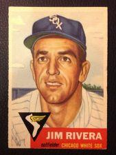 Buy 1953 Topps 156 Jim Rivera VG