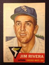 Buy 1953 Topps 156 Jim Rivera VGEX+