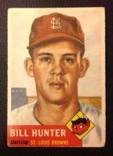 Buy 1953 Topps 166 Bill Hunter VG