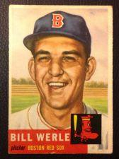 Buy 1953 Topps 170 Bill Werle F/P