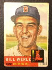 Buy 1953 Topps 170 Bill Werle GOOD
