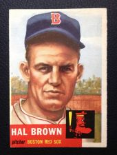 Buy 1953 Topps #184 Hal Brown EX